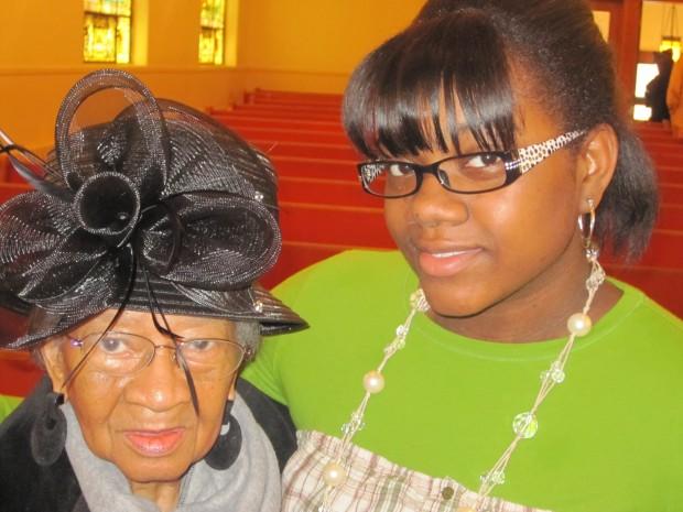 Generations: My Niece with Grandma